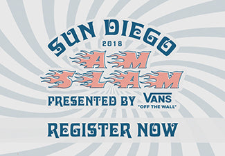 The 2018 Vans x Sun Diego AM SLAM Skateboard Contest Series