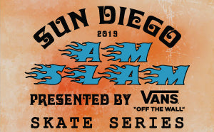 The Vans x Sun Diego AM SLAM Skateboard Contest Series