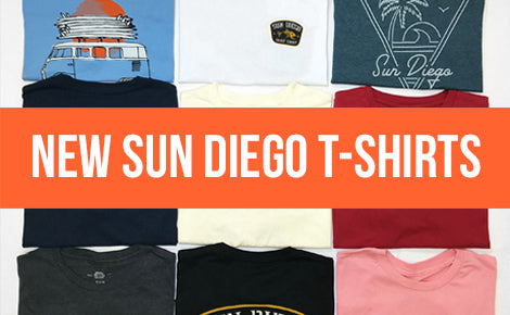New Sun Diego T-Shirts