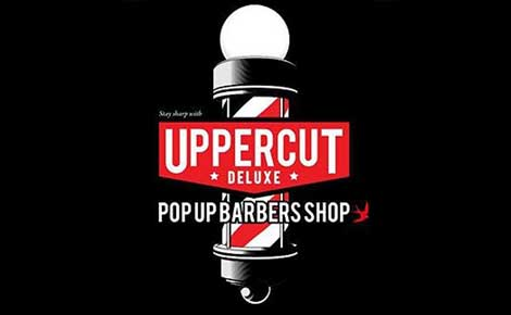 Uppercut Deluxe Pop Up Barber Shop