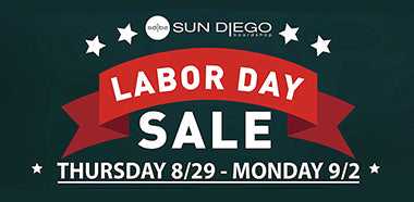 Sun Diego Labor Day Sale
