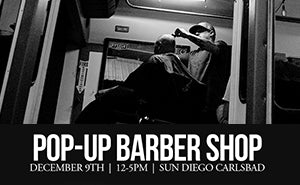 Uppercut Deluxe Pop-Up Barber Shop