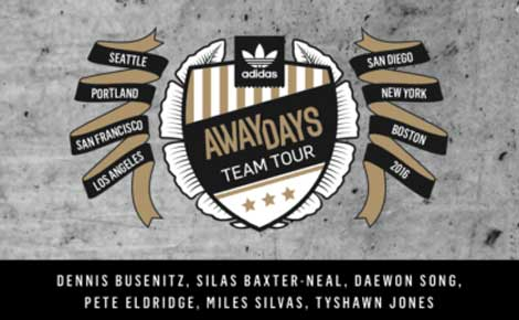 Adidas Away Days Demo Tour