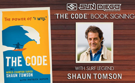 Shaun Tomson 'The Code' Book Signing