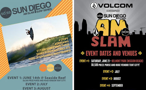AM SLAM 2014 Surf and Skate Series