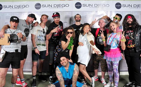 Sun Diego Boardshops 2013 Player's Club Party