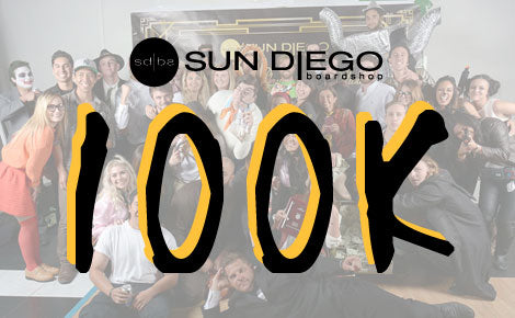 Sun Diego's Annual 100k Party