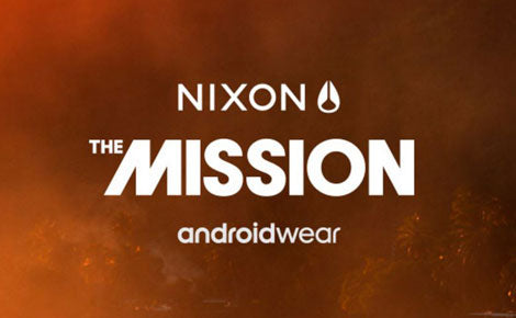 The New Nixon Mission Smartwatch