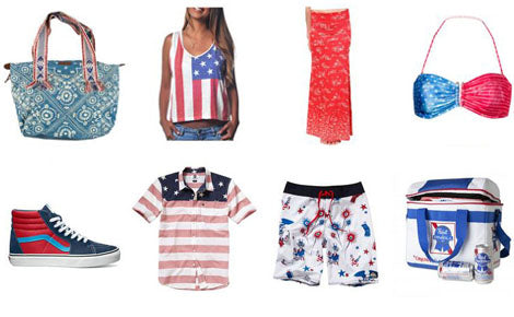 shop red white blue