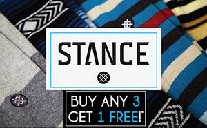 Stance Buy 3 Get 1 Free Sale