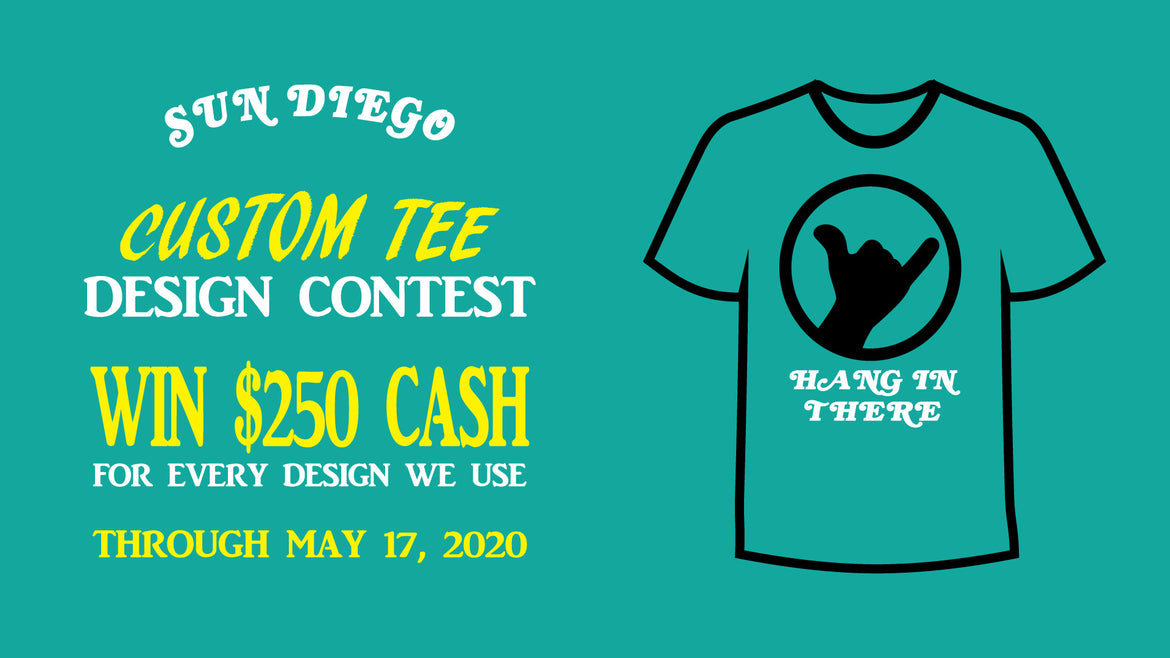Sun Diego Custom Tee Design Contest