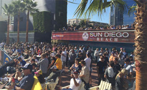 Sun Diego Beach Opening Day At Petco Park Article By Transworld Business