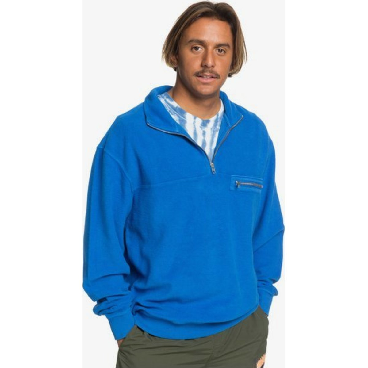 Quiksilver Og Brushed Half Zip Fleece