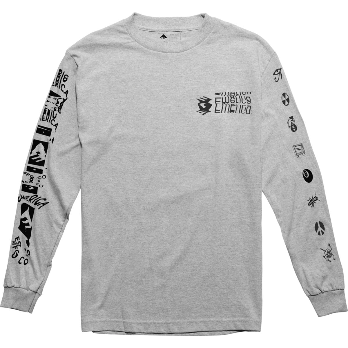 NEW LOW L/S CHR/HTH