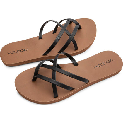 Volcom New School Ii Sandals - Rose Gold