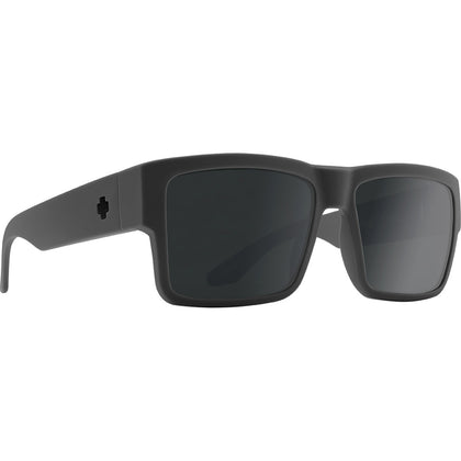 Spy Cyrus Soft Matte Dark Gray - Hd Plus Gray Green Polar With Black Spectra Mirror