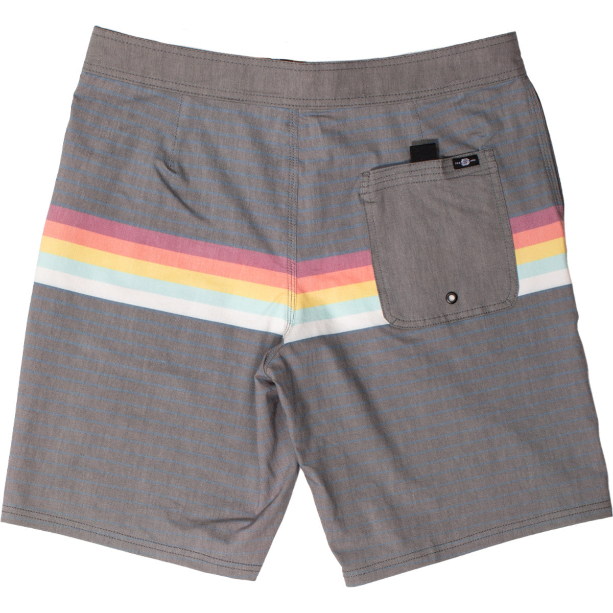Sun Diego Lines 4 Way Stretch Boardshort