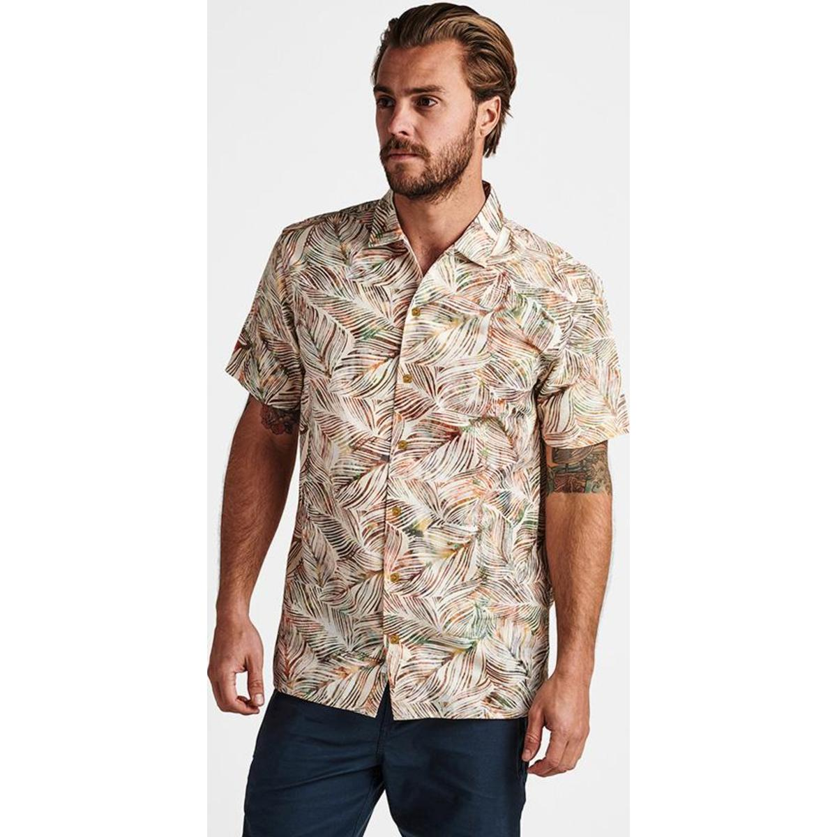 Java Leaf Button Up Shirt