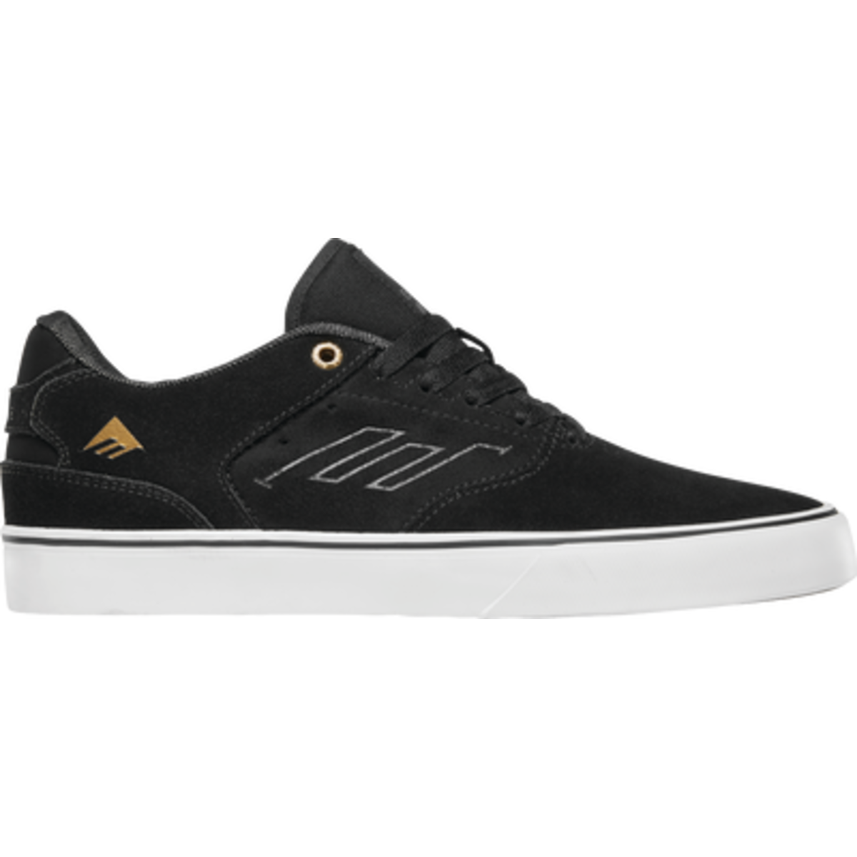 EMERICA THE LOW VULC BLKGOLWHI