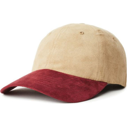 Belford Cap - Tan/Washed Plum