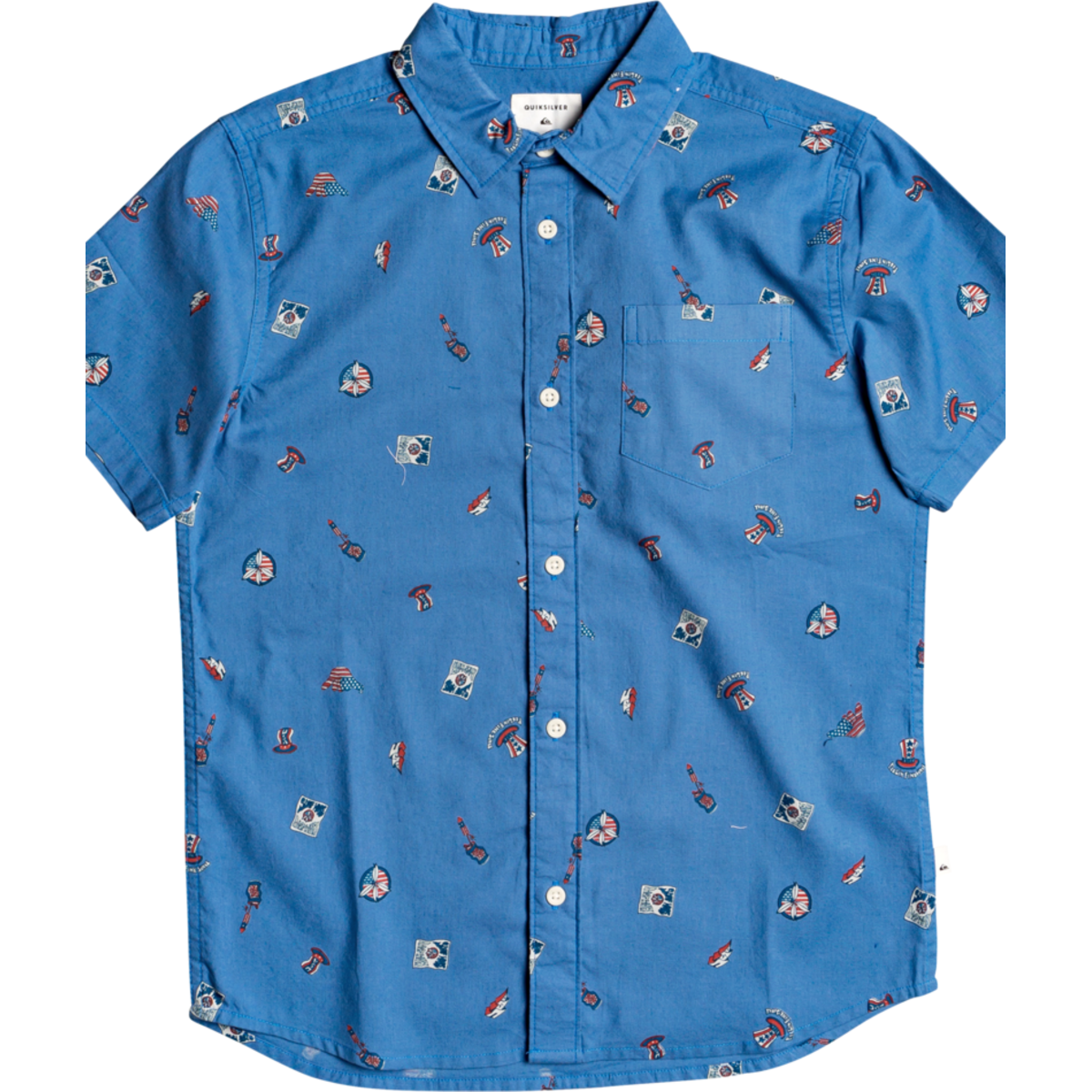 Quiksilver Boys 4Th Of July Ss Youth Woven