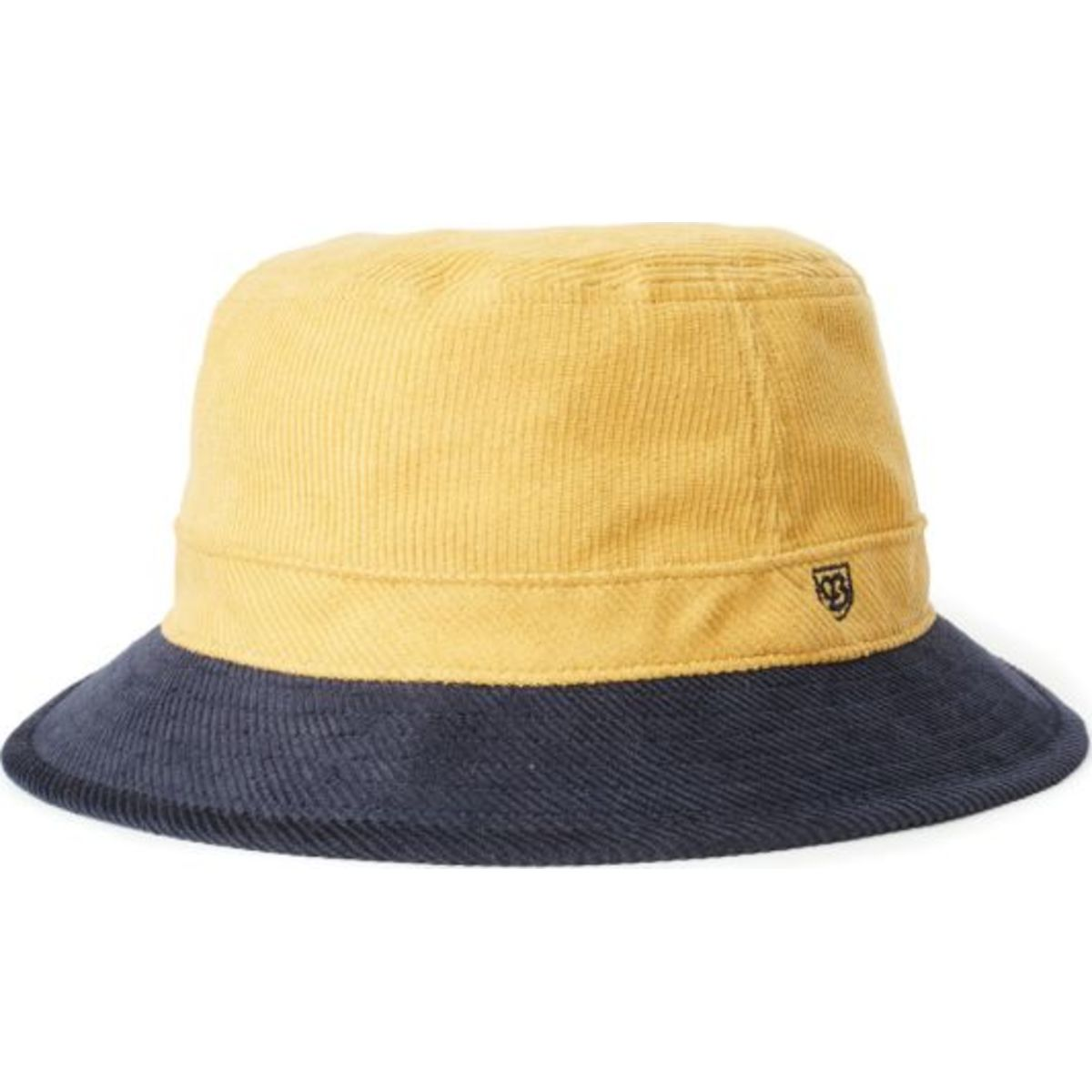 B-Shield Bucket Hat - Sunset Yellow/Washed Navy