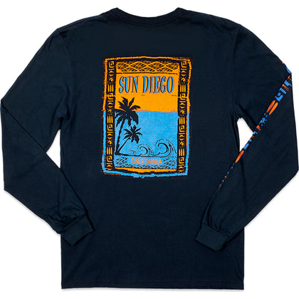 Sun Diego Tribe Long Sleeve Tee