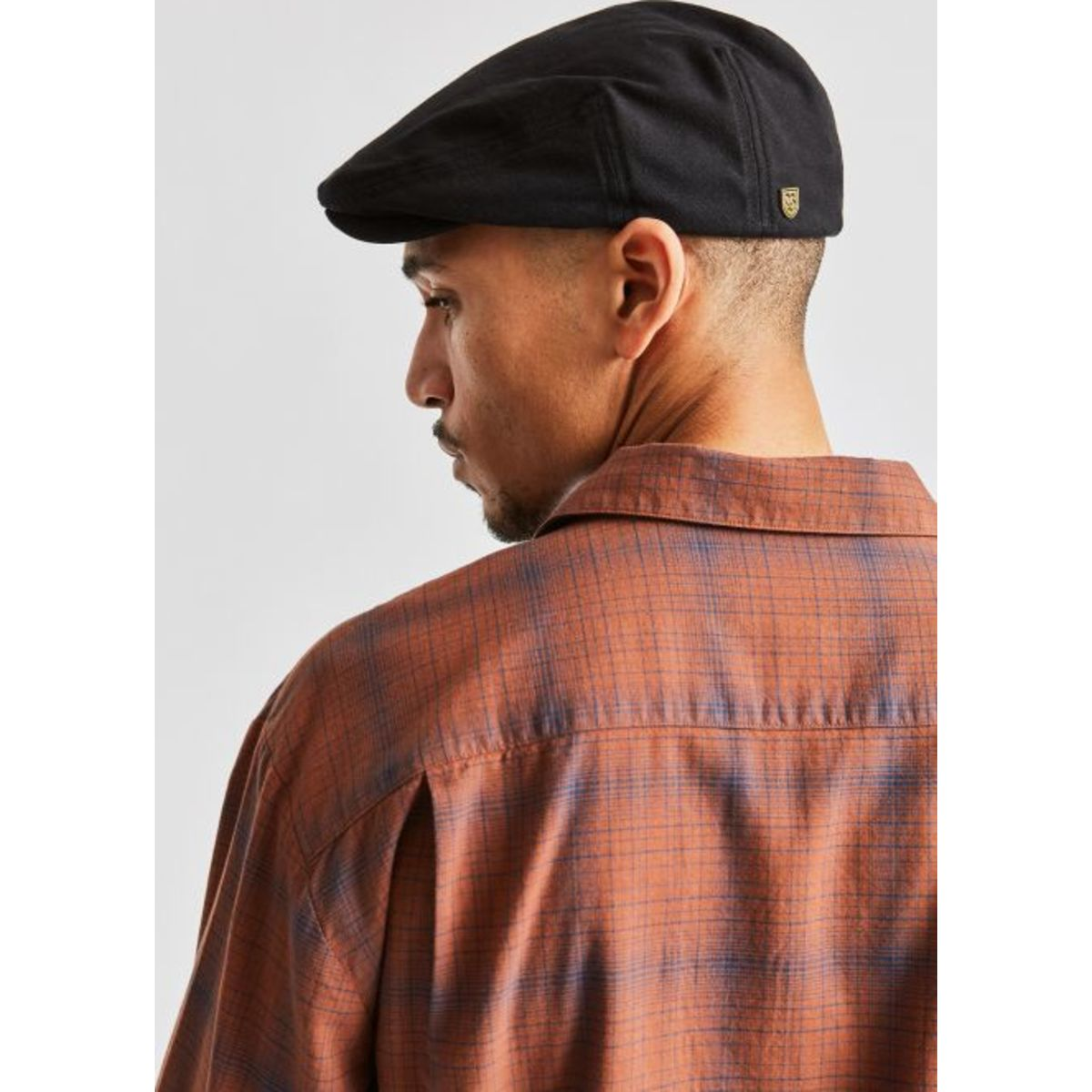Brixton Hooligan Lightweight Snap Cap - Washed Copper/Hide