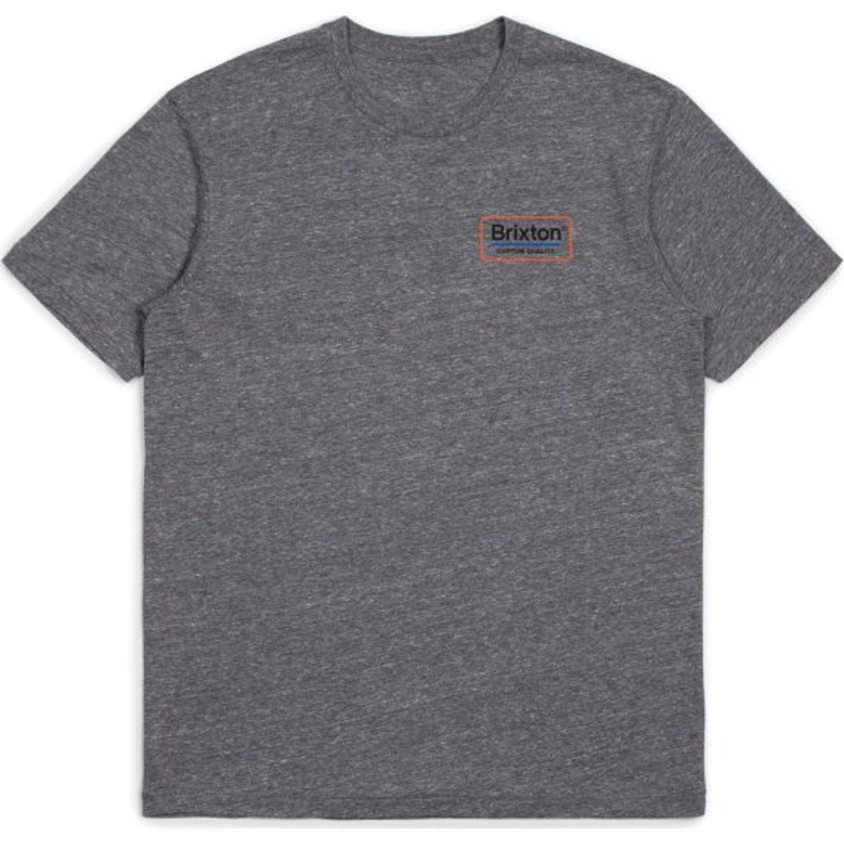 PALMER S/S PREMIUM TEE - WASHED NAVY/BRICK