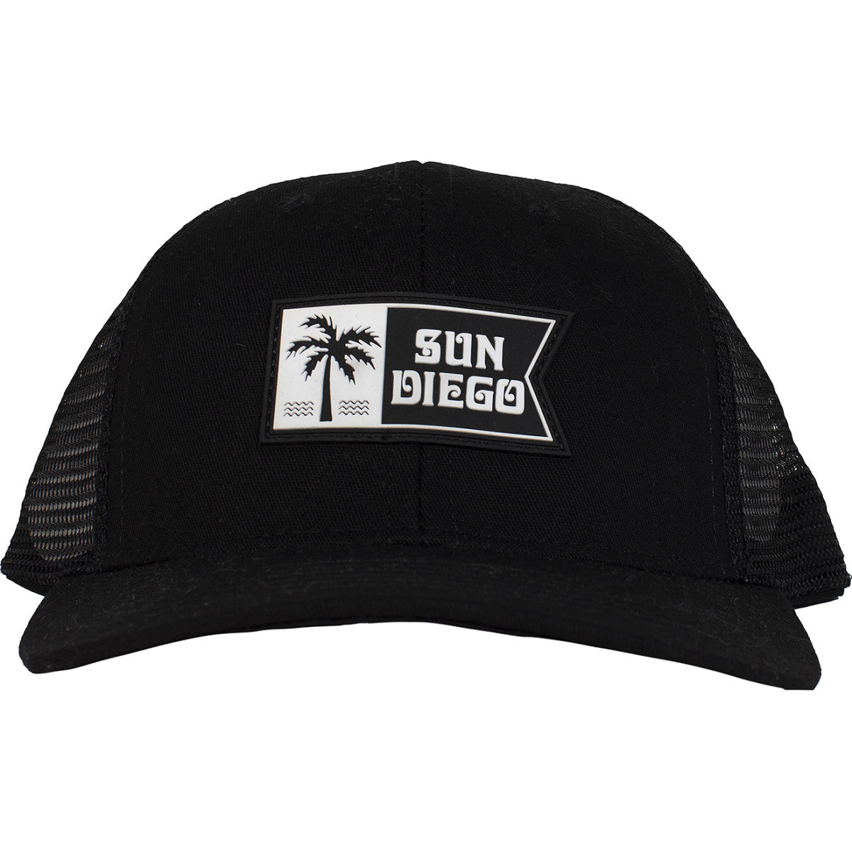 Sun Diego Palm Flag Trucker Hat