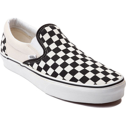 Vans Classic Slip On Black White Checkerboard
