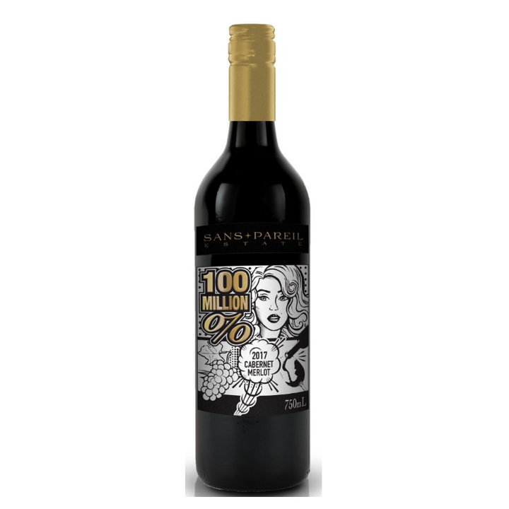 100 million % Cabernet merlot 13.5% 750mL