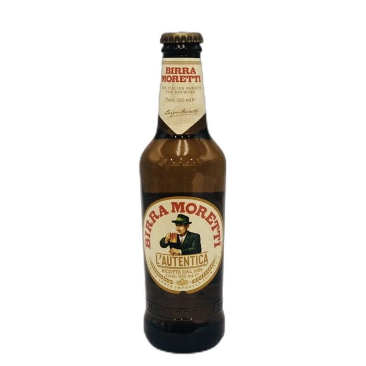 Birra Moretti Lager Bottles 4.60% 330mL - Bottle