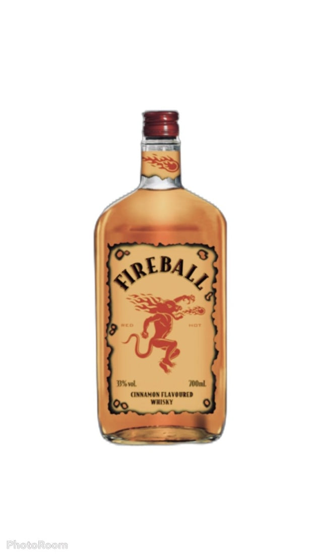 Fireball Cinnamon Flavoured Whisky 700mL - Whiskey
