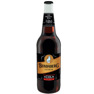 BUNDABERG RUM & COLA BOTTLE 640ML