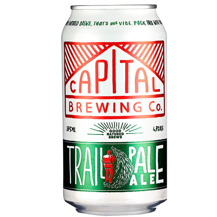 CAPITAL BRE/TRAIL PALE ALE 4.7% 375ML