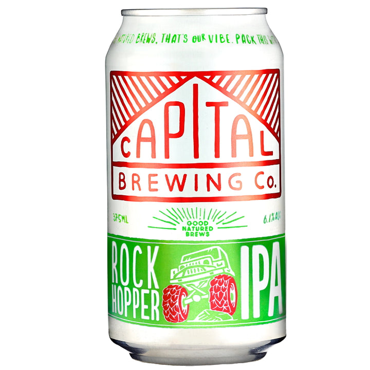 CAPITAL BREWING CO. ROCK HOPPER 375ML 6.1% ALC