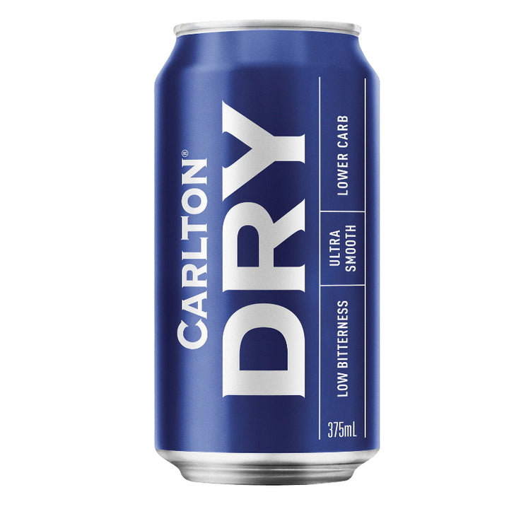CARLTON DRY 4.5% CANS 375ML