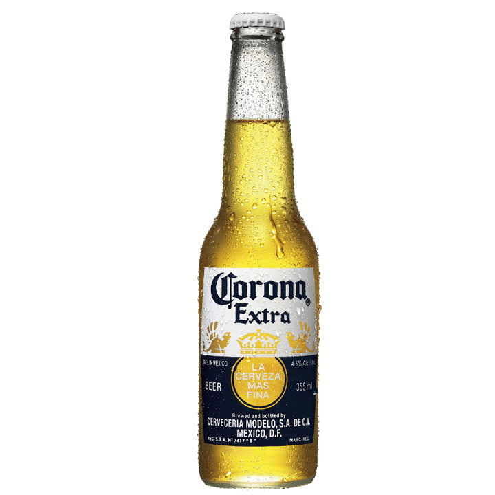 CORONA EXTRA BEER BOTTLES 355ML