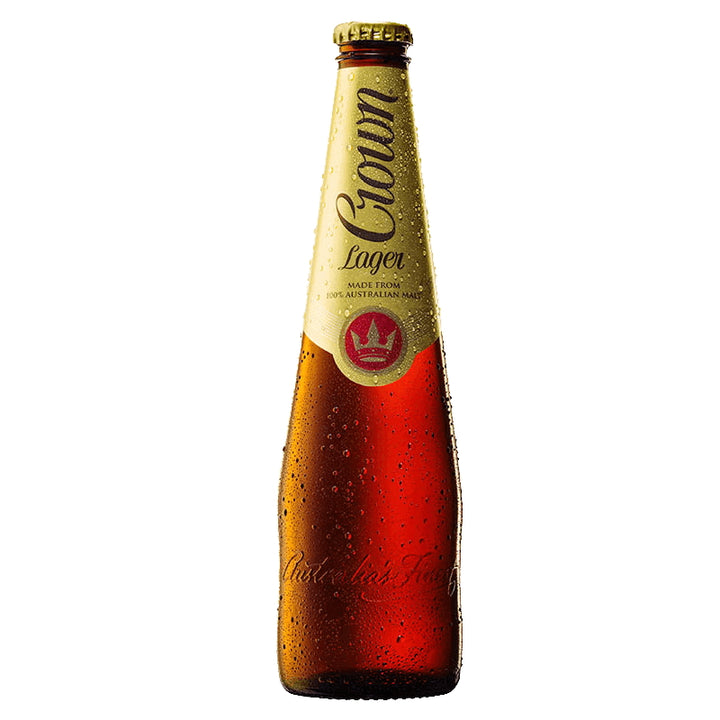 CROWN LAGER 4.9% 375ML