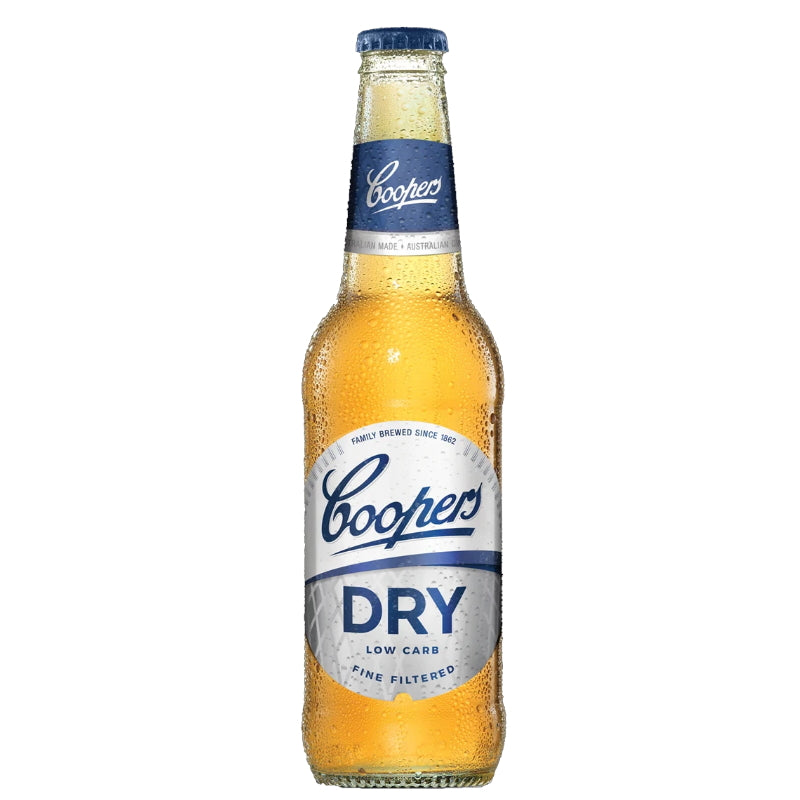 Coopers Dry Low carb 4.2% 355mL