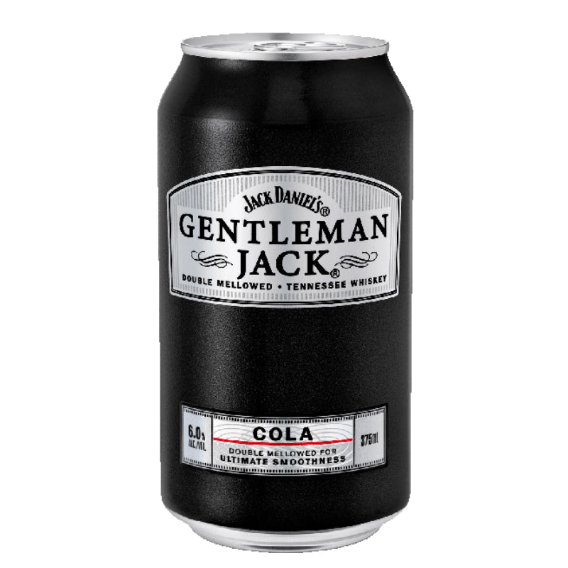 GENTLEMAN JACK RARE TENNESSEE WHISKEY & COLA 375ML