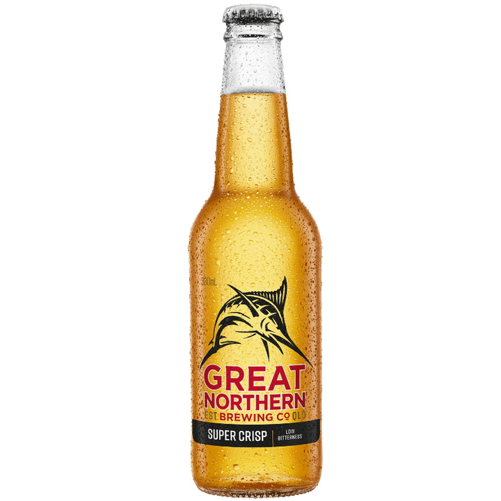Great Northern Brewing Company Super Crisp Lager 330mL - Beer