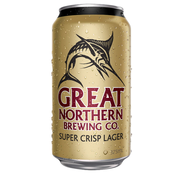 GREAT NORTHERN BREWING SUPER CRISP CANS 375ML
