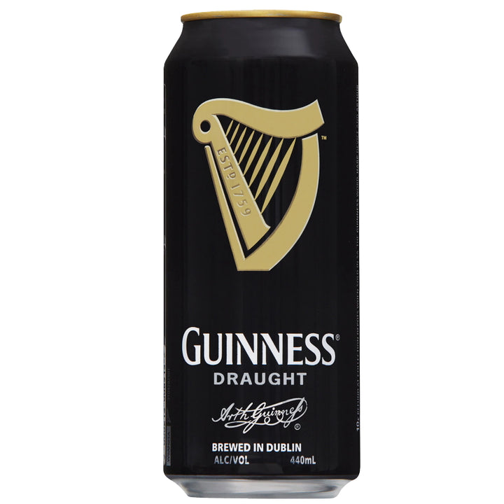 GUINNESS DRAUGHT 4.2% CANS 440ML