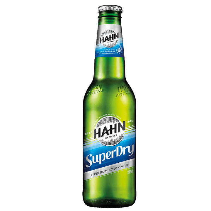 HAHN SUPERDRY BOTTLES 330ML