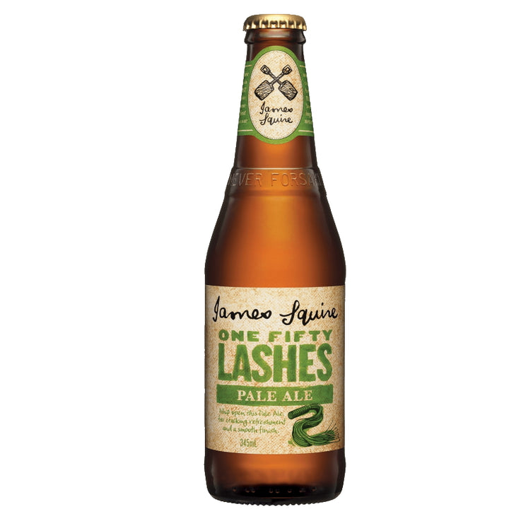 JAMES SQUIRE ONE FIFTY LASHES PALE ALE BOTTLES 345ML