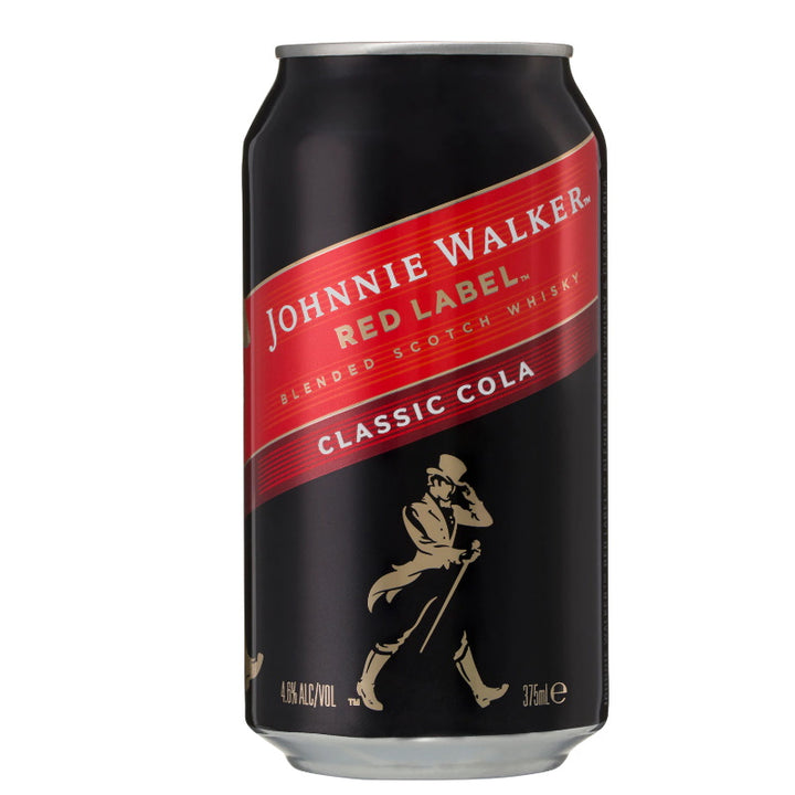 Johnnie Walker Red Label Classic Cola 4.6% 375mL