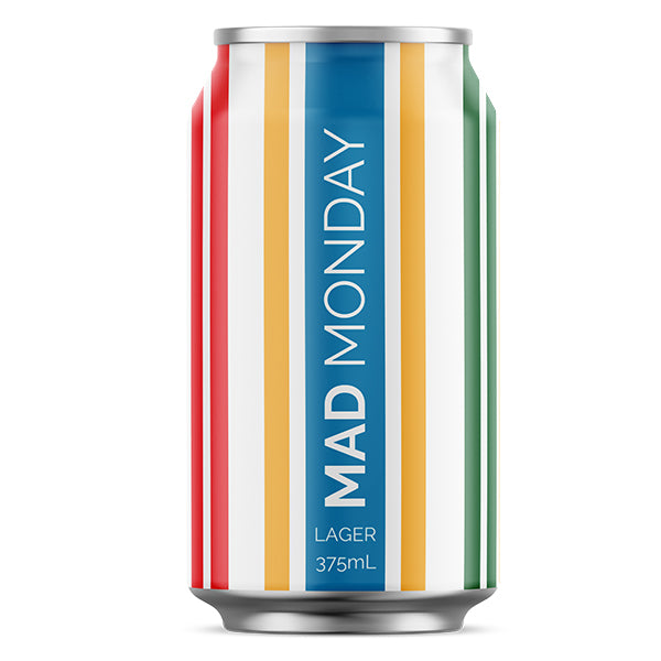 Mad Monday Lager 4.2% 375mL