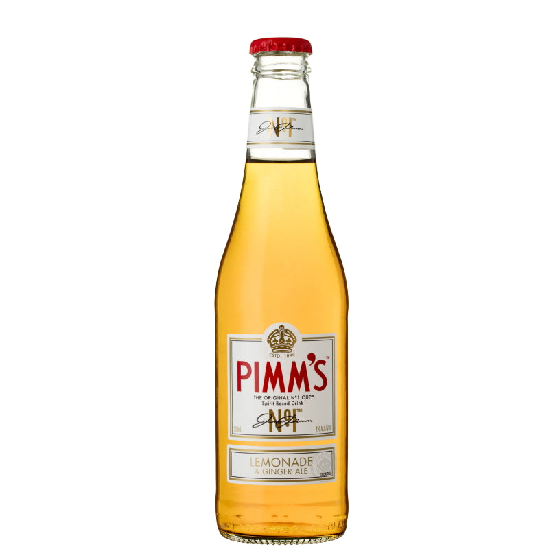 PIMM'S NO 1 CUP LEMONADE & GINGER ALE 4% 330ML